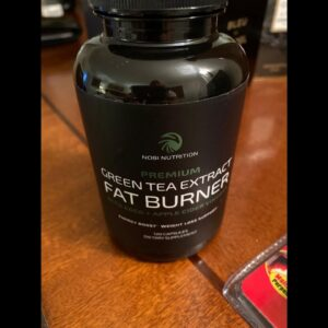 Nobi Nutrition Green Tea Fat Burner - Green Tea Extract Supplement with EGCG - Diet Pills, Appe...