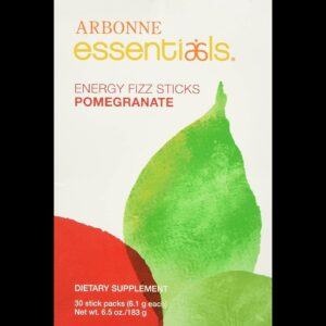Arbonne Pomegranate Fizz Sticks,0.21 Ounce (Pack of 30)