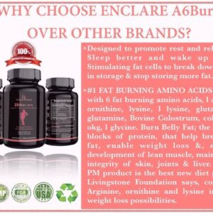A6BURN: Nighttime Fat Burner Sleep Aid, Metabolism Booster, Appetite Suppressant, Bedtime Weigh...
