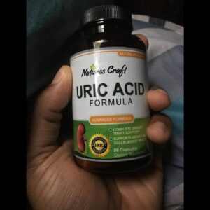 Natures Craft Uric Acid Formula - Uric Acid Detox Cleanse Decrease Acidity - Pure Green Coffee...