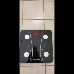 Bluetooth Body Fat Scale, Digital Body Weight Scale Smart Bathroom Scale, Body Composition Moni...