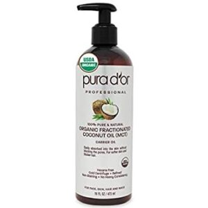 Verdana USDA Certified Organic Coconut MCT Oil – Fractionated – 100% Genuine – No Palm Kernel U...
