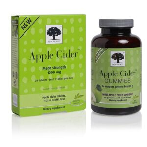 New Nordic Apple Cider Gummies  60 Cou...