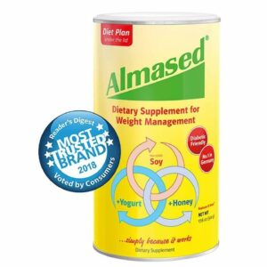 Almased HIGH-QUALITY NON-GMO SOY+YOGURT+HONEY Protein Powder, Supports Weight Loss, Optimal Hea...