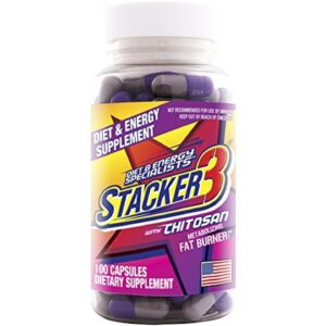 Stacker 3 XPLC 3 Weight Loss Supplement 12 x 20ct Bottles 240ct