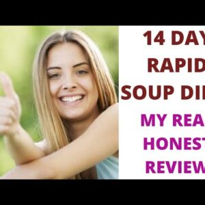 14 DAY RAPID SOUP DIET REVIEW 2021😱😱 MY REAL & HONEST UPDATED REVIEW😱😱👍✌✌