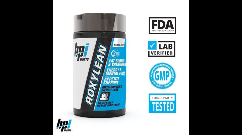 BPI Sports Roxylean Extreme Fat Burner and Weight Loss Supplement, 120 Count , Limited Edition,...