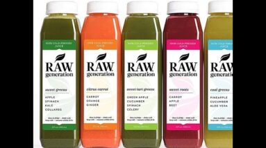 5-Day Juice Cleanse by Juice From the RAW - Most Popular Juice Cleanse to Lose Weight Quickly /...